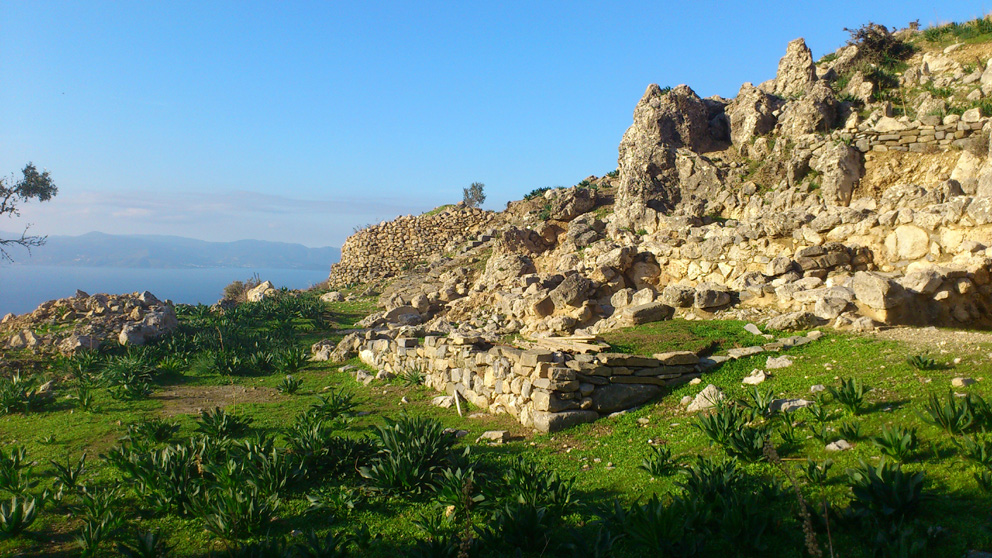 The archeological site of Azoria