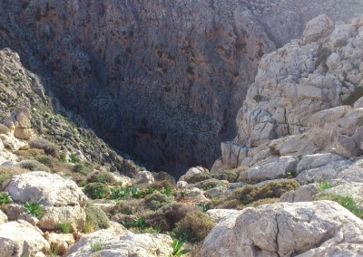 Gorge near Xerokambos
