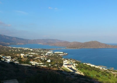 View to Elounda