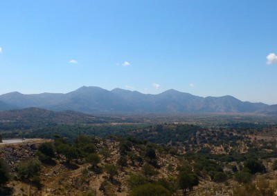 Lasithi Plateau from north east