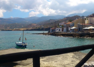 Mochlos harbour